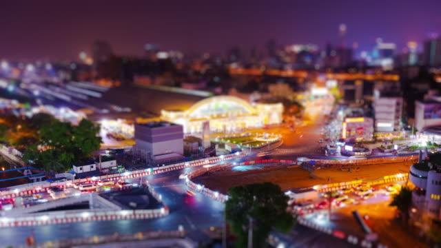 Stadt nahe an Bangkok, Thailand