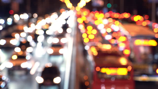 city night road - beijing点の映像素材/bロール