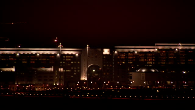 City of Astana at night\n Available in HD.