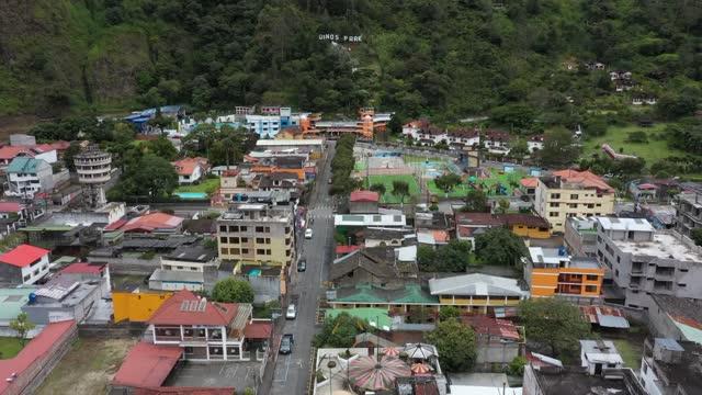 city of banos ecuador - agua stock-videos und b-roll-filmmaterial