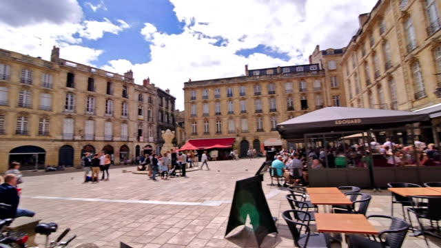 city of bordeaux impressions - courtyard stock videos & royalty-free footage