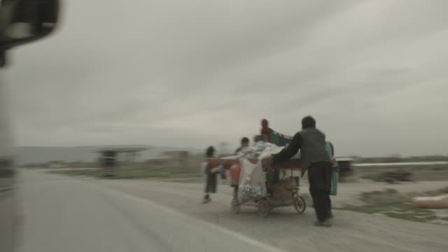 city of kabul - viewpoint from a moving vehicle - tricycle stock videos & royalty-free footage