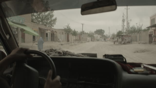 city of kabul - viewpoint from a moving vehicle - kabul stock videos & royalty-free footage