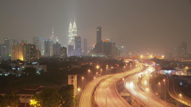 city of kuala lumpur, malaysia - menara kuala lumpur tower stock videos & royalty-free footage