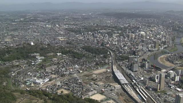 AERIAL, City Of Kumamoto, Japan