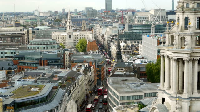 city of london and fleet street - city of london stock videos & royalty-free footage