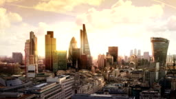City of London business and banking aria