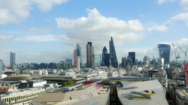 Stadt von London aus dem Westen