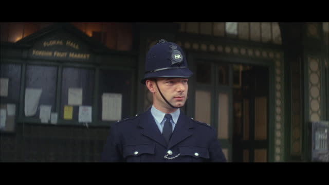 1964 - city of london police force - officer stock videos and b-roll footage