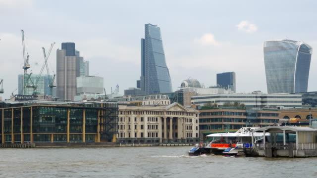 City of London Wolkenkratzer aus dem Südwesten