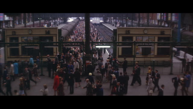1964 - city of london transportation - 1964 stock videos and b-roll footage