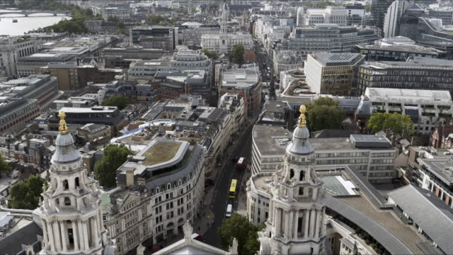 City of London with Ludgate Hill and Fleet Street