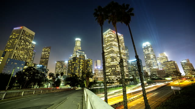 City of Los Angeles at night