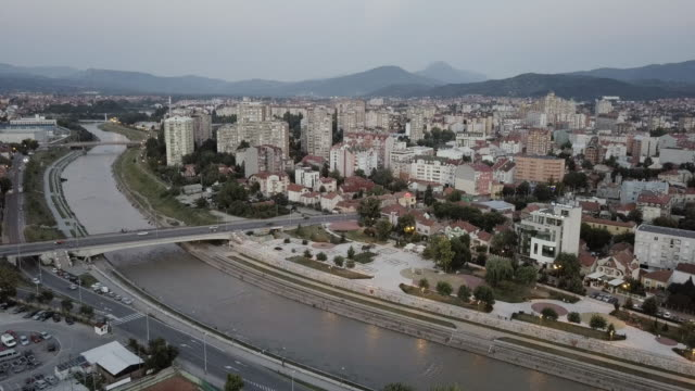 city of nis,river nisava and city square - serbia stock videos & royalty-free footage