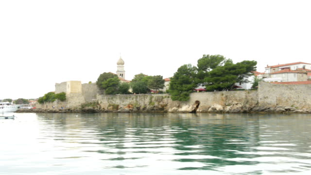 City of Omisalj from the sea