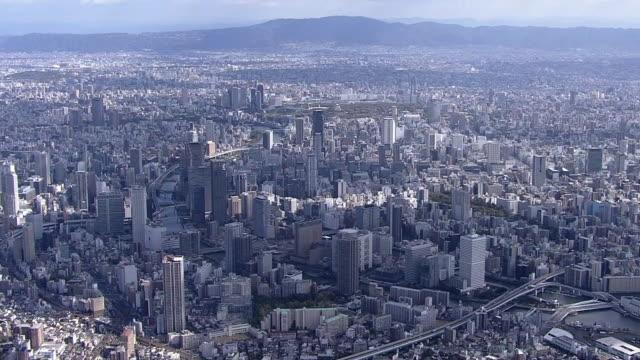 AERIAL, City Of Osaka, Japan
