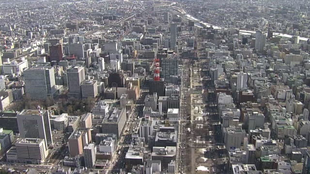 AERIAL, City Of Sapporo, Hokkaido, Japan