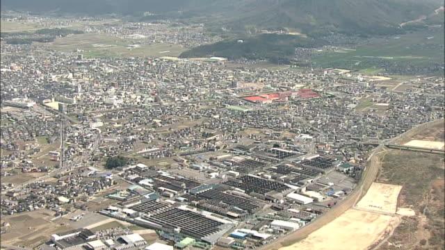 AERIAL, City Of Soja, Okayama, Japan