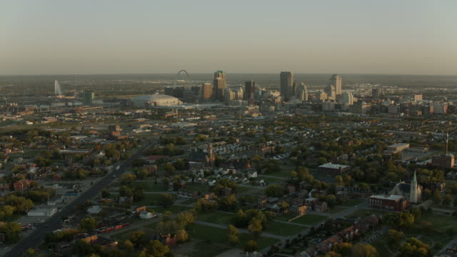 City Of St Louis With Downtown Skyline