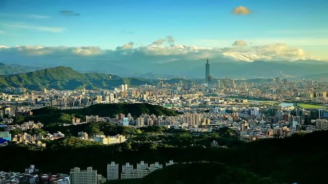 city of taipei - taipei 101 stock videos & royalty-free footage