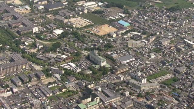 AERIAL, City Of Tenri, Nara, Japan