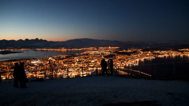 city of tromso - horizontal stock videos & royalty-free footage