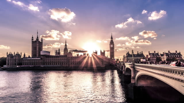 city of westminster day to night, london - big ben stock videos & royalty-free footage