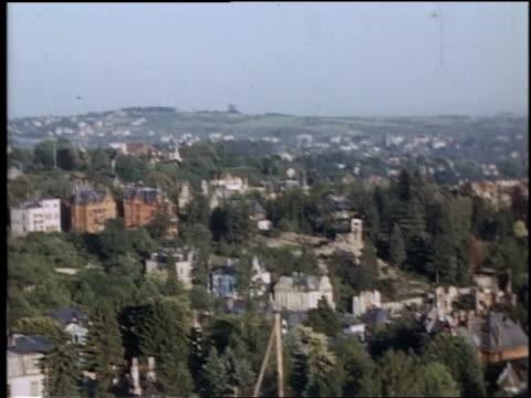 pan city of wiesbaden / germany - wiesbaden stock-videos und b-roll-filmmaterial