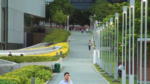 city park,hongkong - formal garden stock videos & royalty-free footage