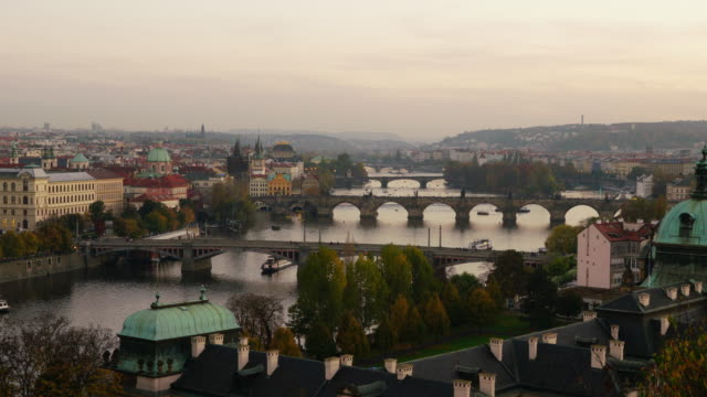city pedestrian and transportation in prague - stare mesto stock videos and b-roll footage