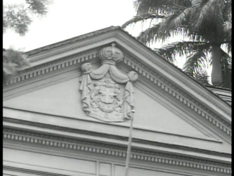 city possibly tunis. carving on counselor building. int italian chief counselor general mcclary silinbarley sitting at table w/ assistant.... - tunis stock videos & royalty-free footage