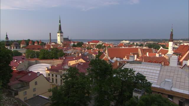 City Rooftops, Tallinn, Estonia