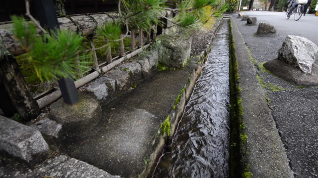 city sewer, watercourse drainage in the city - drainage stock videos and b-roll footage