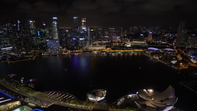 stockvideo's en b-roll-footage met city skyline luchtfoto - highlights