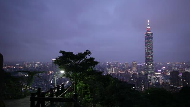 WS City skyline at night / Taipei, Taiwan