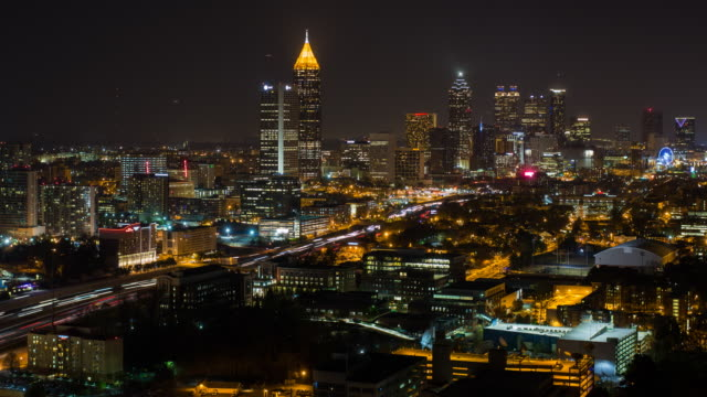 City Skyline, Atlanta, Georgia, United States of America