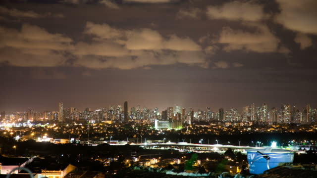 time lapse: city skyline recife - recife stock videos and b-roll footage