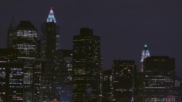 LA City skyscrapers at night / Atlanta, Georgia, United States