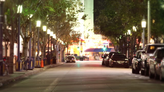 city street people & traffic (time lapse) - westwood neighborhood los angeles stock videos & royalty-free footage