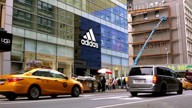 city street - adidas stock videos & royalty-free footage