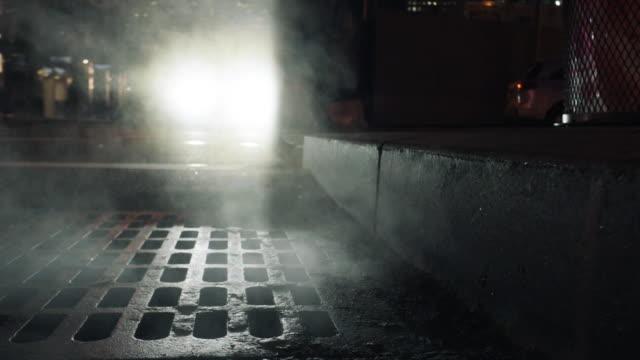 city streets - sidewalk gutter stock videos & royalty-free footage