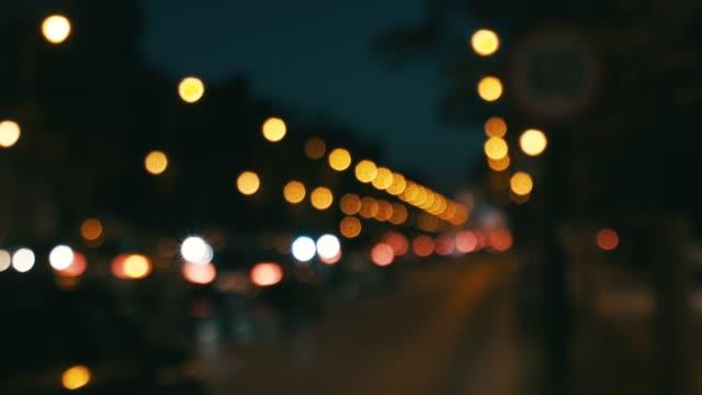 city traffic concept. - headlight stock videos & royalty-free footage