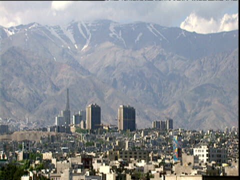 city traffic in contemporary tehran mar 05 - tehran stock videos and b-roll footage