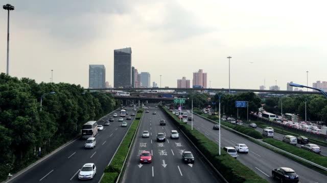 City Traffic in Shanghai