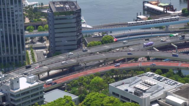 東京の都市交通 - 高速道路点の映像素材/bロール