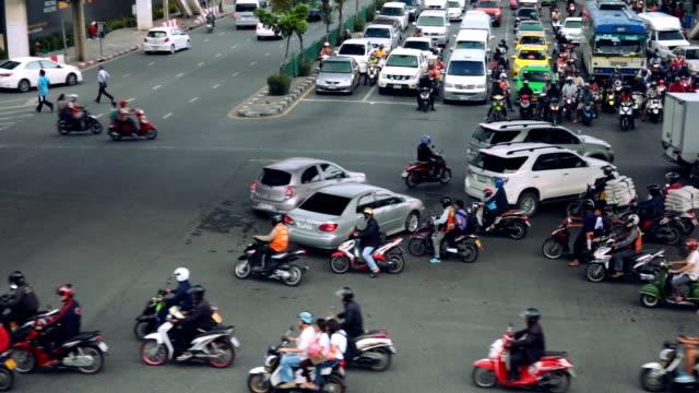 city verkehr - bangkok stock-videos und b-roll-filmmaterial