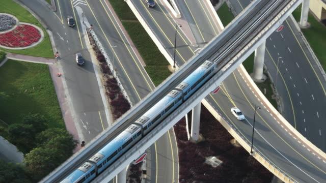 ms city transportation system / dubai, vereinigte arabische emirate - komplexität stock-videos und b-roll-filmmaterial