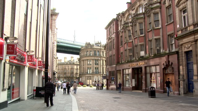 city view, newcastle upon tyne - newcastle upon tyne stock videos & royalty-free footage