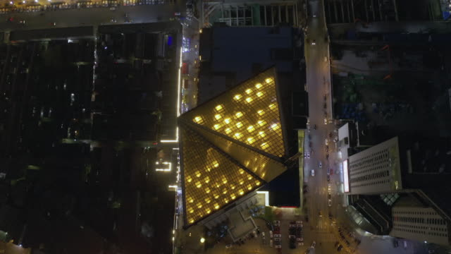 cityscape aerial view - liyao xie stock videos & royalty-free footage