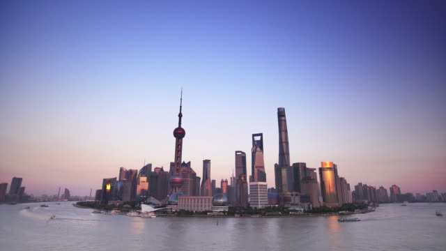 WS Cityscape along the Huangpu River, Shanghai
